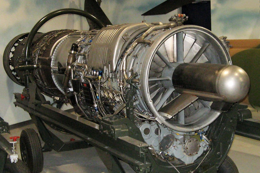 File General Electric J79 Turbojet Warner Robbins Air