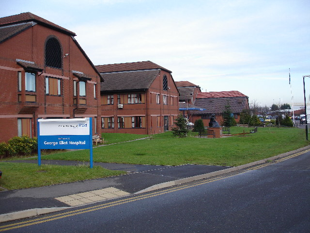 File:George Eliot NHS Trust Hospital, Nuneaton - geograph.org.uk - 90389.jpg