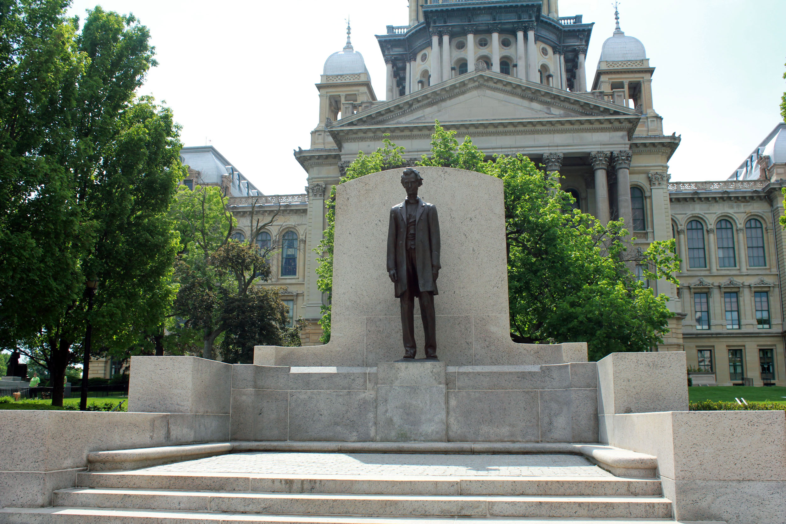 File Gfp Illinois Springfield Lincoln Statue Jpg