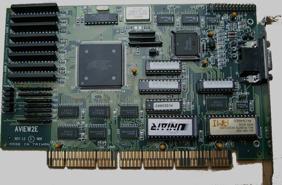 Appaloosa (2006). Graphics Card EISA. http://fr.wikipedia.org/wiki/Extended_Industry_Standard_Architecture