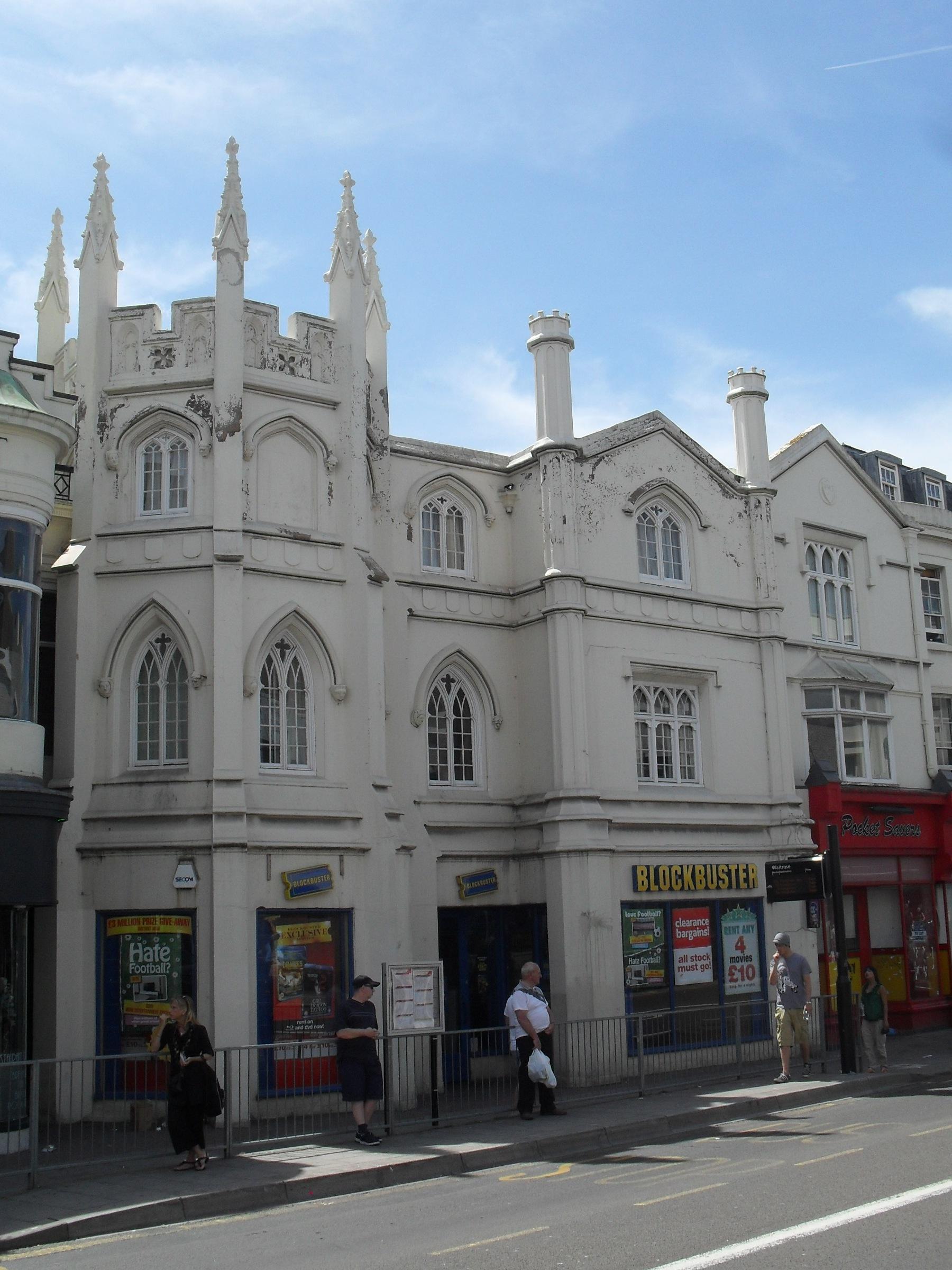 Gothic House Western Road Brighton IoE Code 481446
