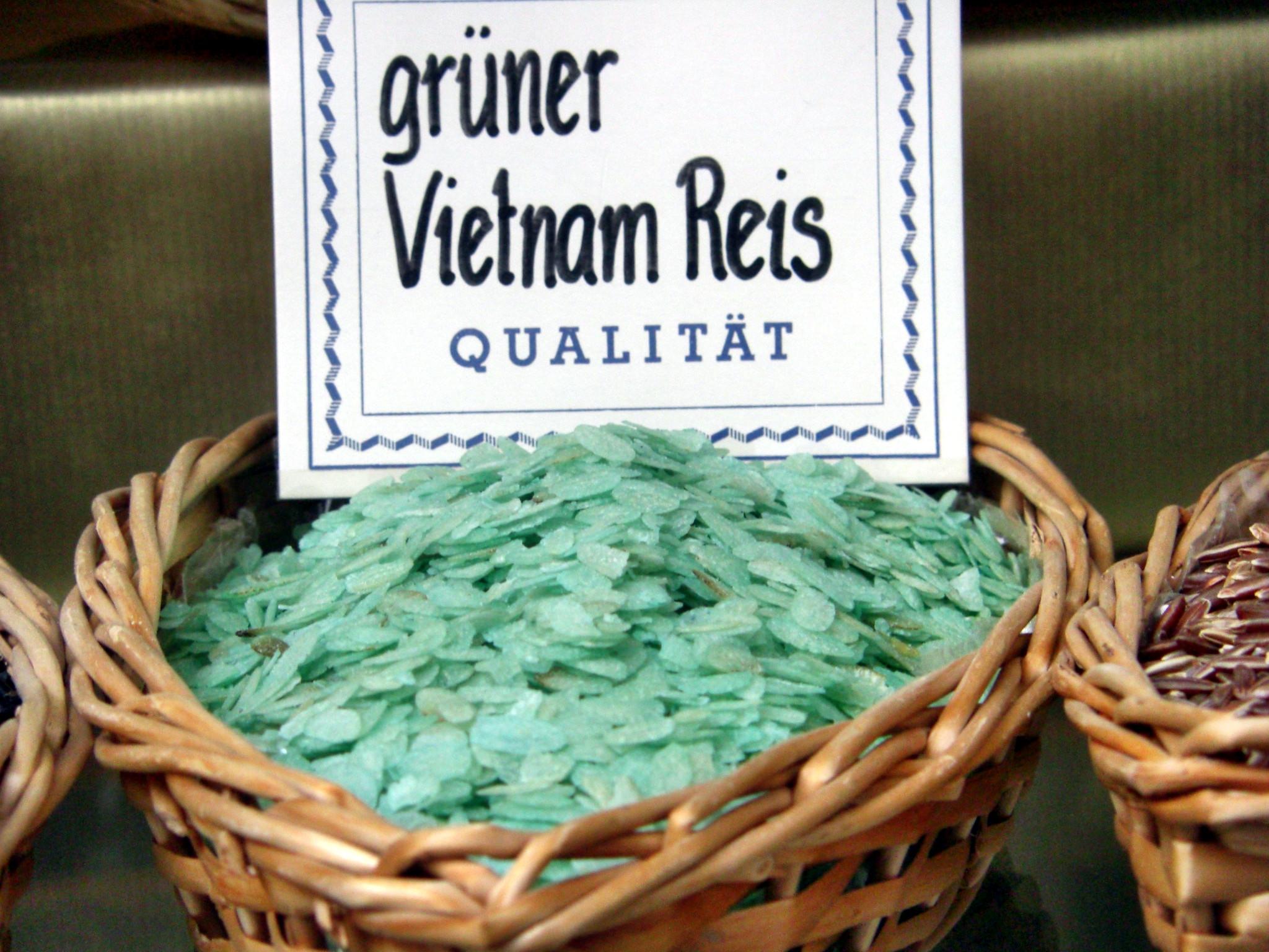 Chinesischer reifer langer Reis