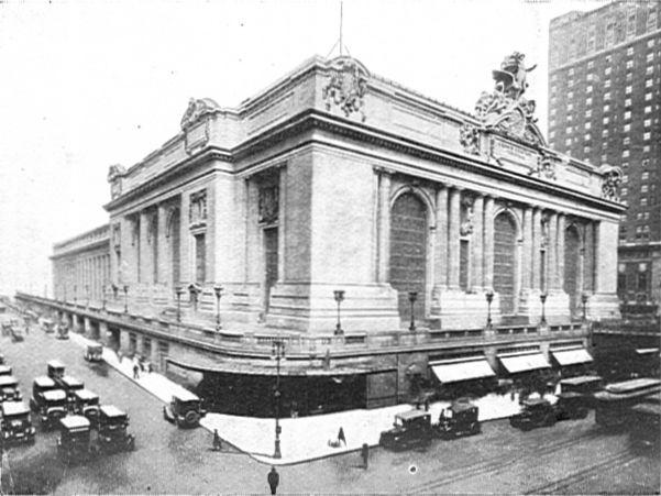 File Grand Central Station New York Cj Allen Steel Highway 1928 Jpg Wikimedia Commons