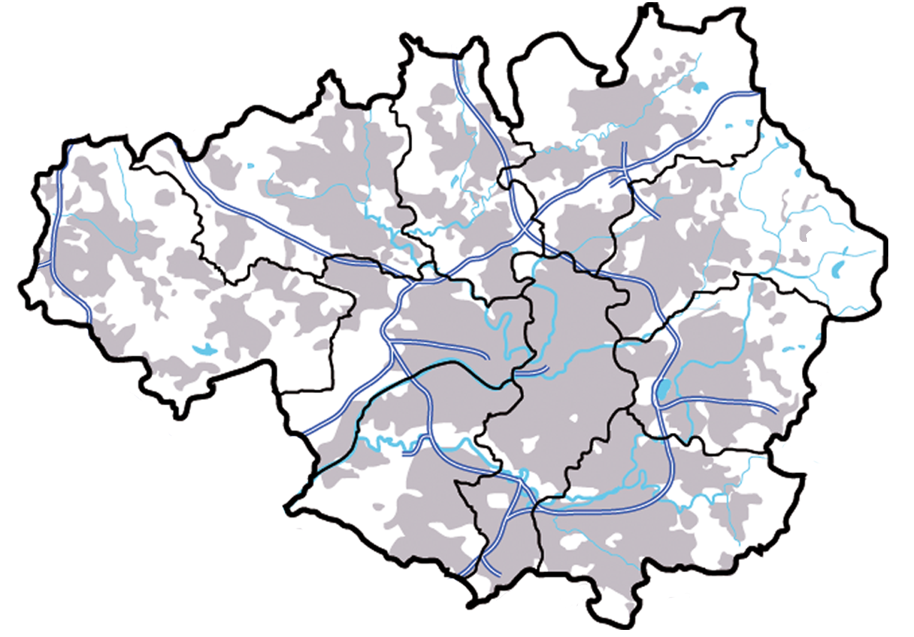 File Greater Manchester Outline Map Png