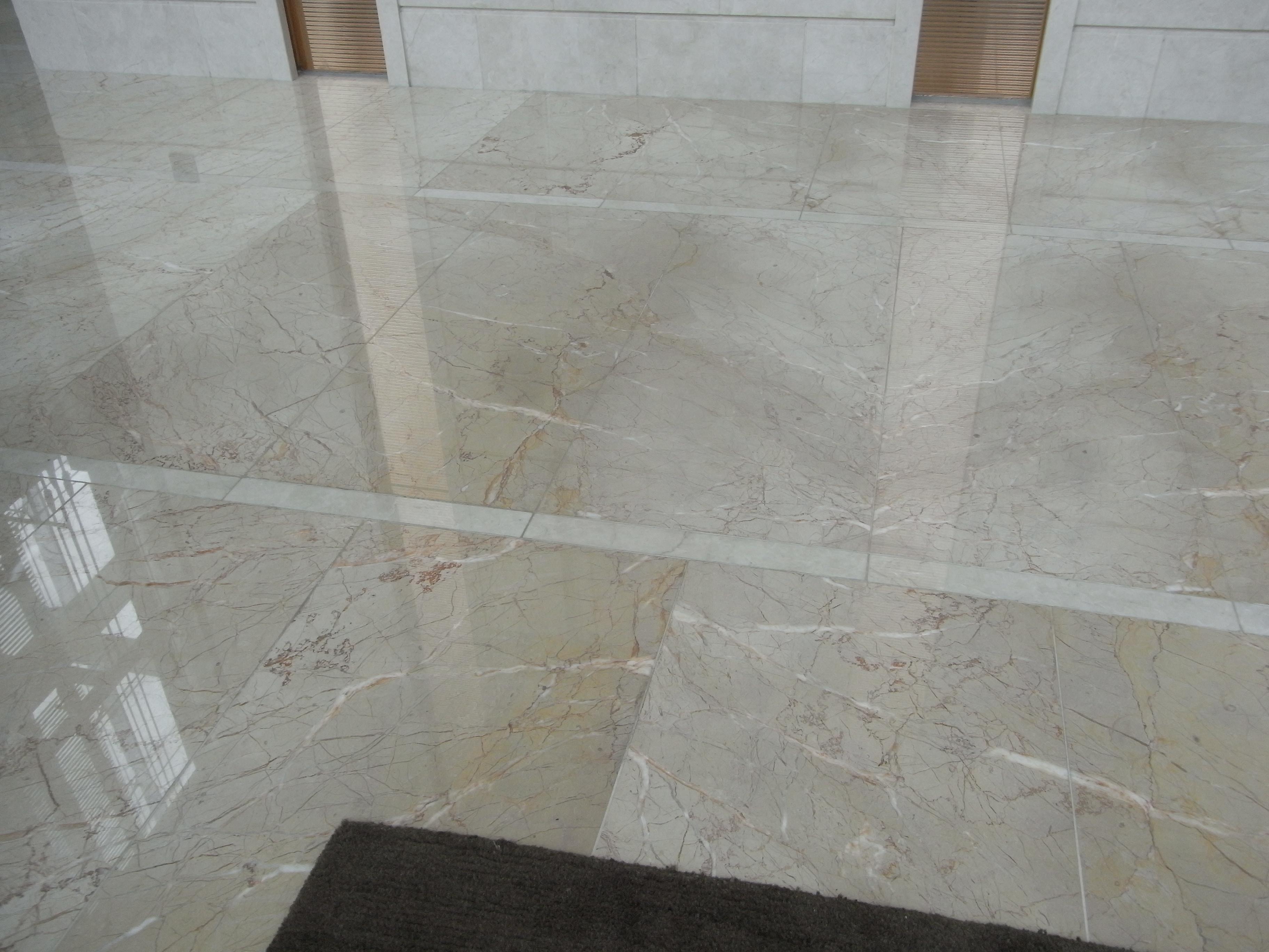 Concrete Look Tiles Kitchen Splashback