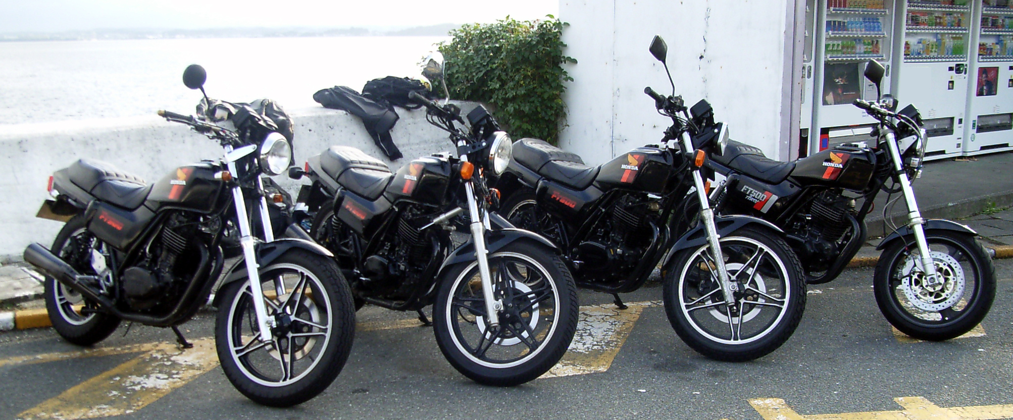 Honda HONDA_FT500_motorcycles