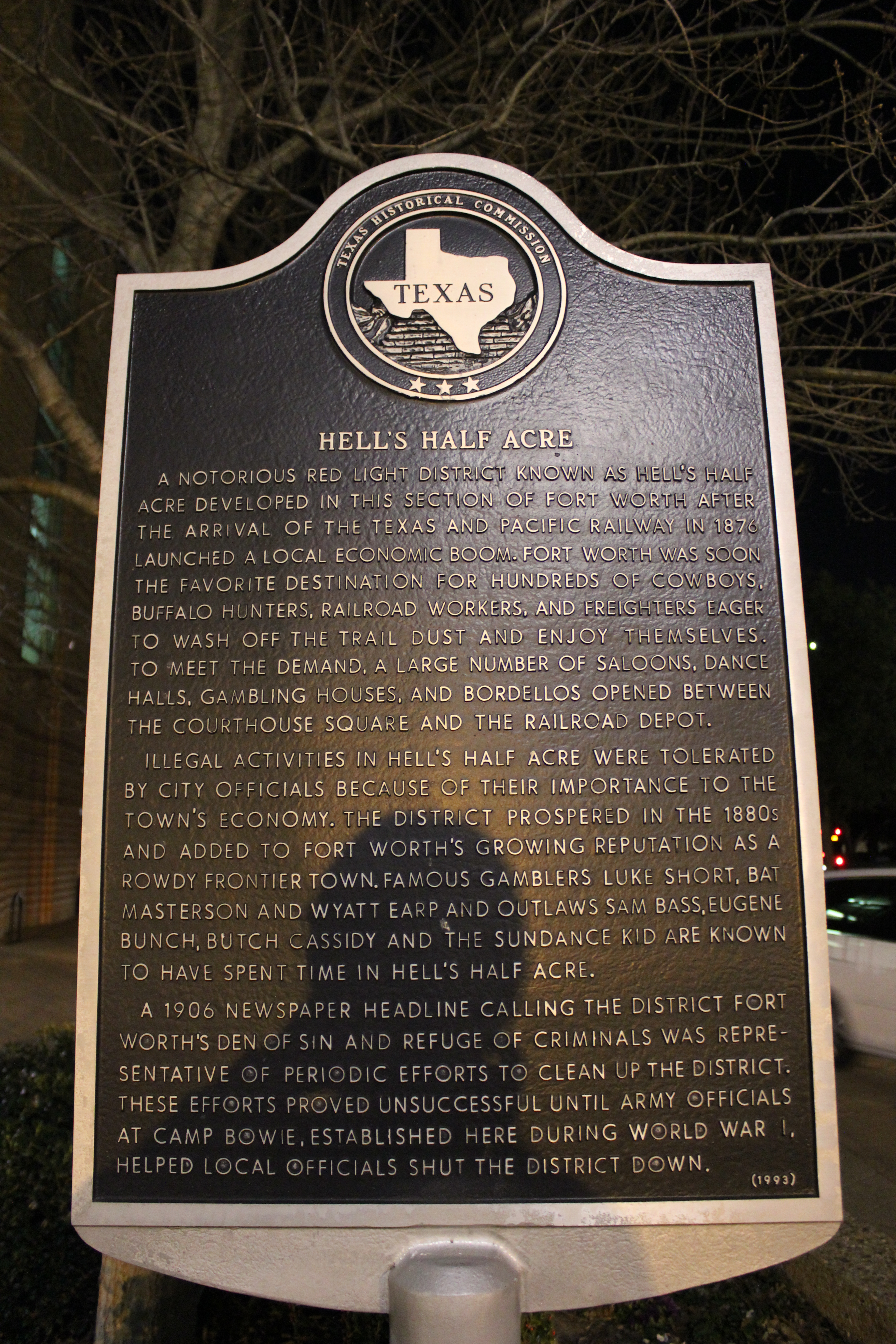wiki history fort worth texas