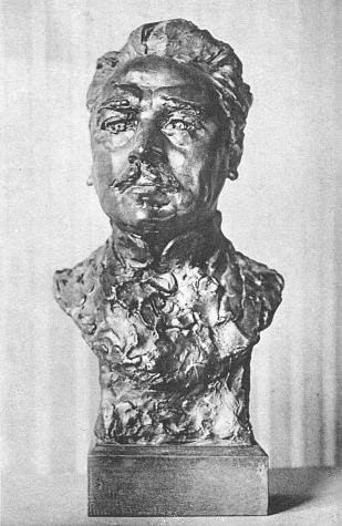 Анри Франсуа Бек. Скульптурный портрет работы Огюста Родена