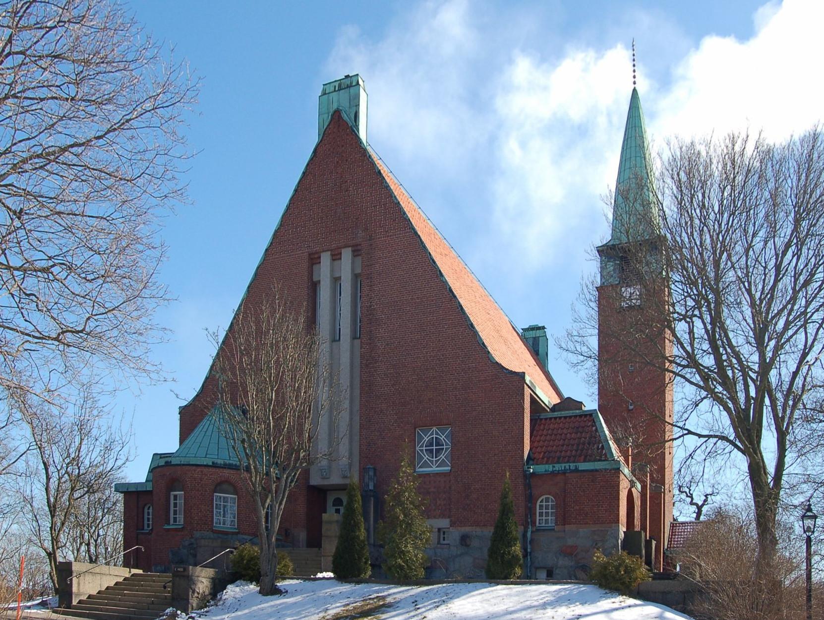 Bild av Hjorthagens kyrka