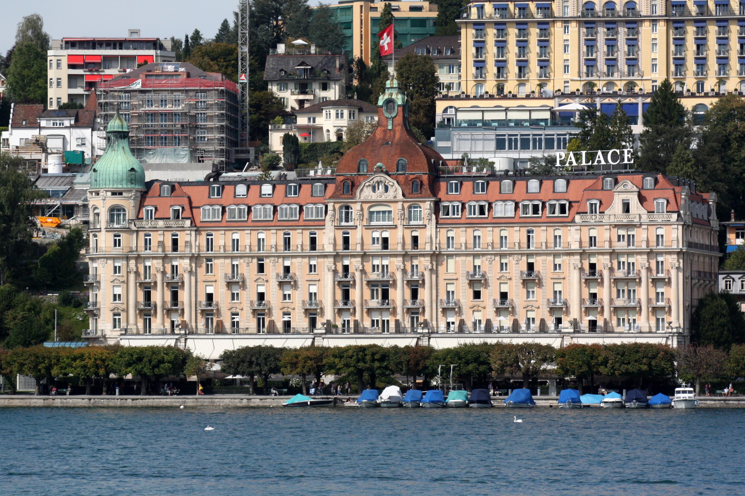 Palace Hotel Lucerne Switzerland