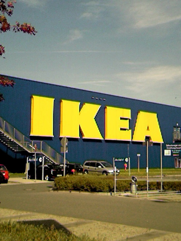 File:IKEA Logo In Blue And Yellow On Store.jpg