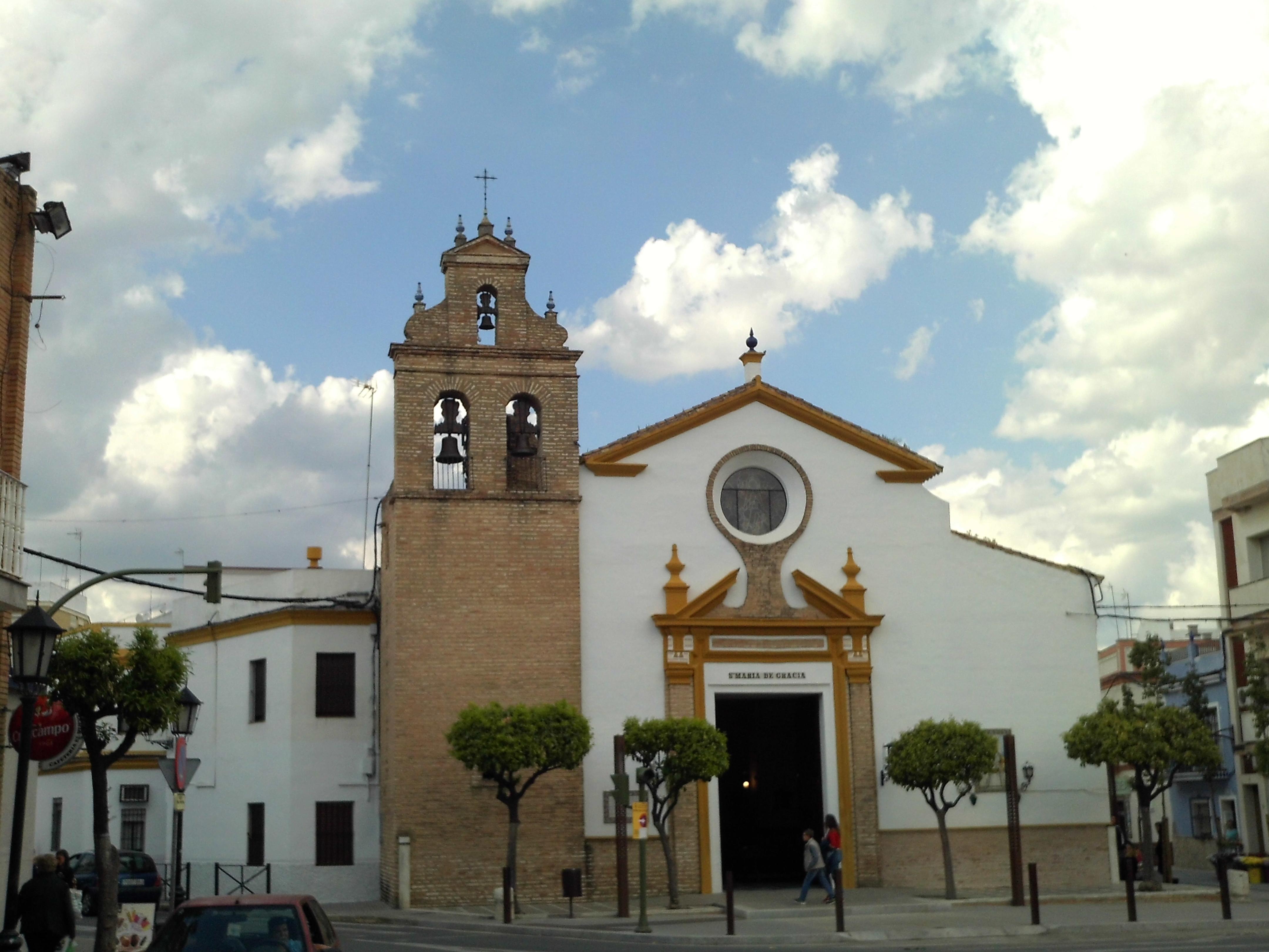 Iglesia de Nuestra Señora de Gracia (Camas) - Wikipedia, la ...
