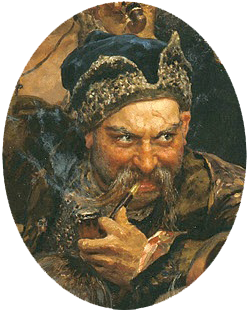 Výsledek obrázku pro kozácký ataman 1670