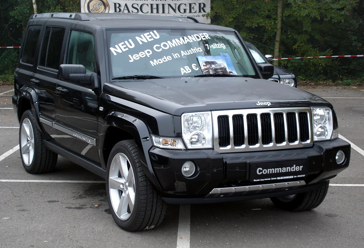 file:jeep commander front - wikimedia commons