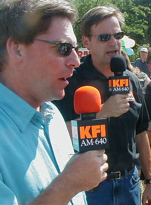 KFI co-hosts John Kobylt and Ken Chiampou (Creative Commons)