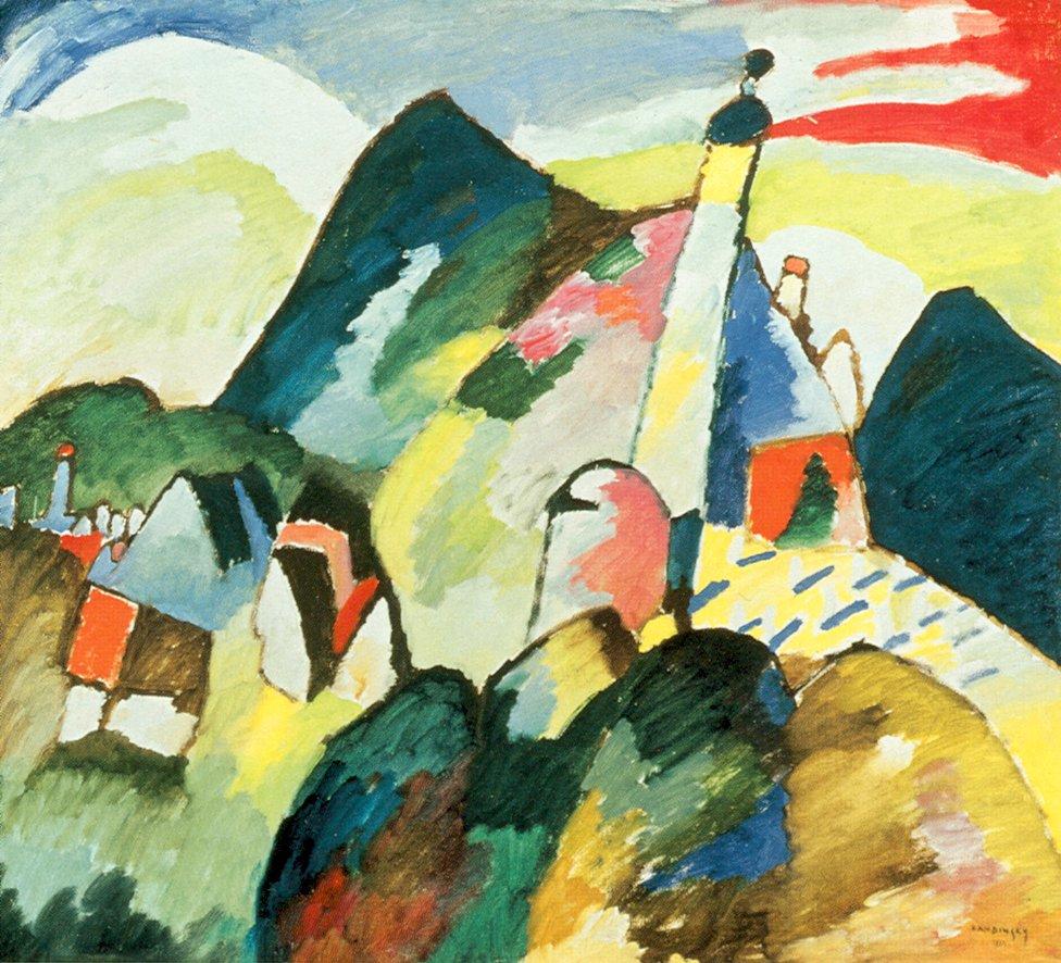 What Kind Of Art Is Kandinsky Paintings