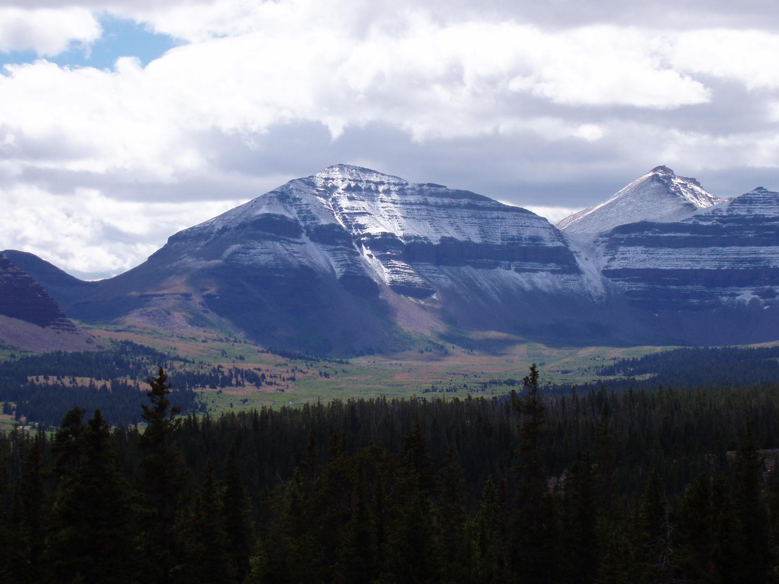 elevation of kings peak ut