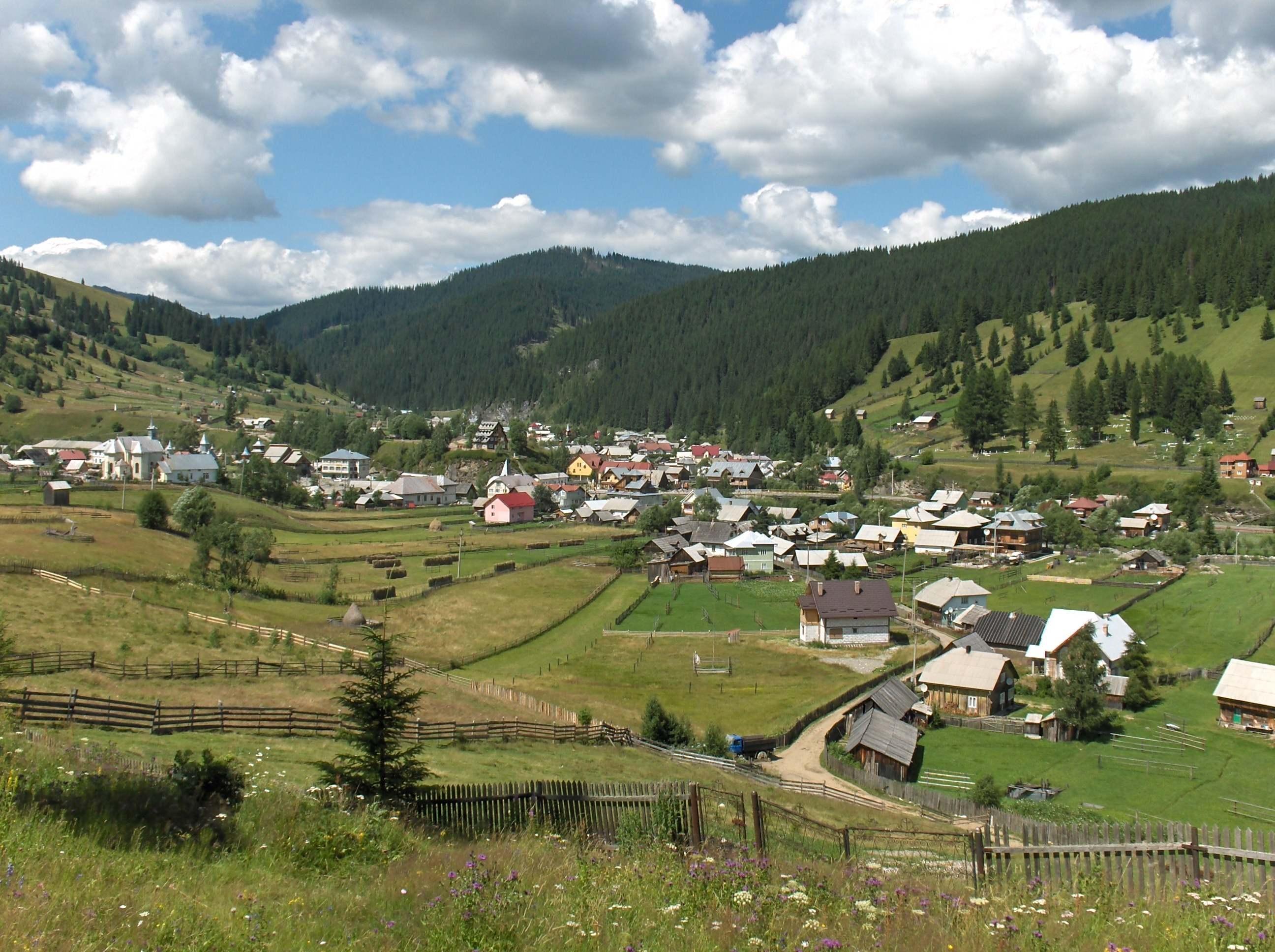 Cârlibaba şi Ciocăneşti, în Top 10 - cele mai frumoase sate din România