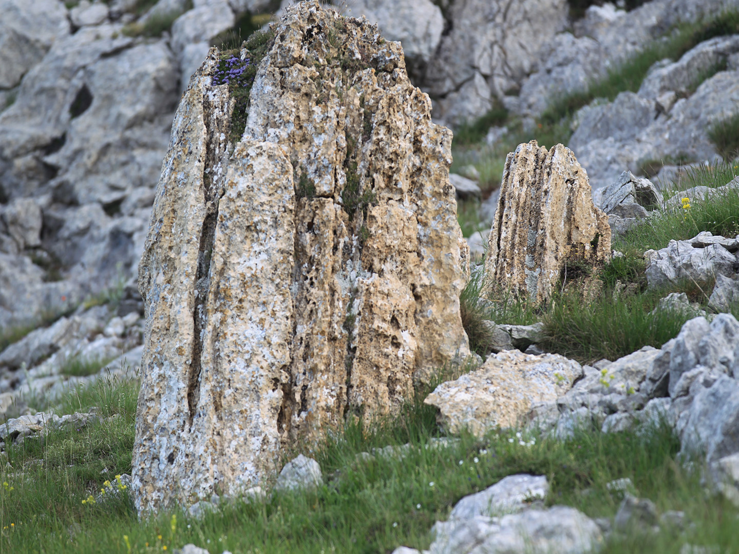 Filela Montaña Palentina Llena De Rocas Tan Variadas Como Sus
