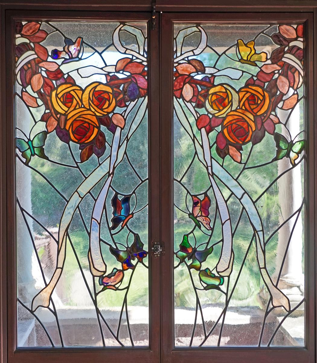 Filele Musée Du Vitrail Art Nouveau Villa Torlonia Rome