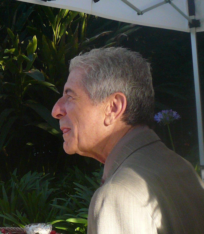 Leonard Cohen en 2007.