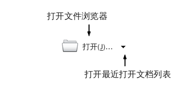LibreOffice 3.4 Start Center Open icon zh-CN.png