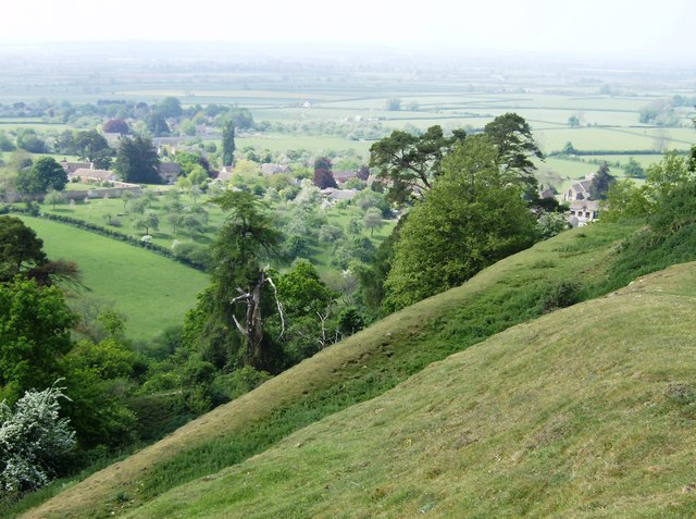 Looking down on Sutton Montis - geograph.org.uk - 486311