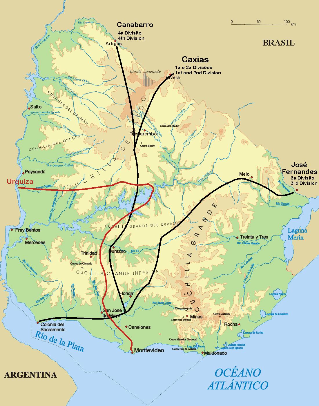 FileMapa Platine WarPNG Wikimedia Commons - Uruguay relief map
