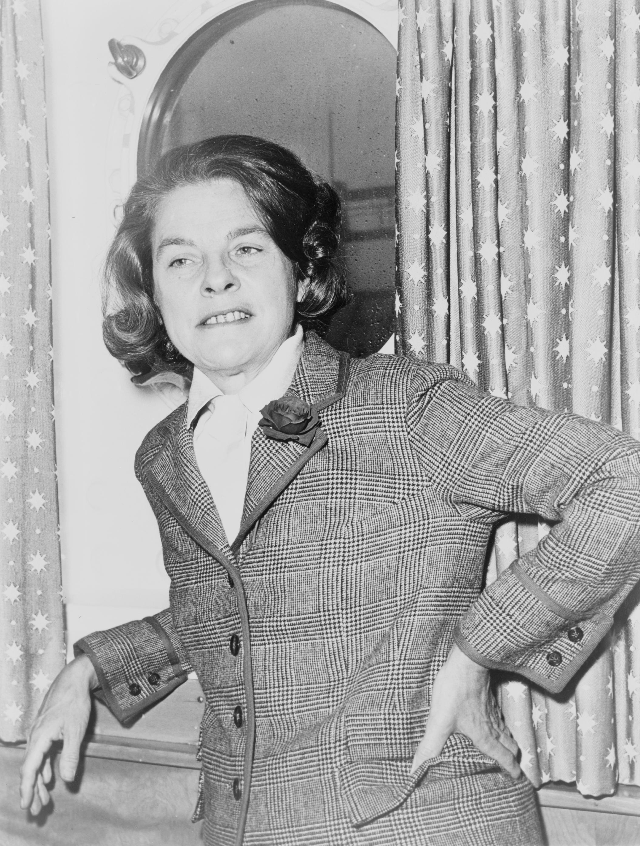 Portrait of Mary McCarthy