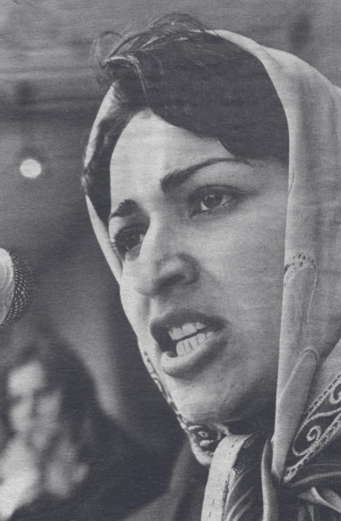 Meena Keshwar Kamal y RAWA