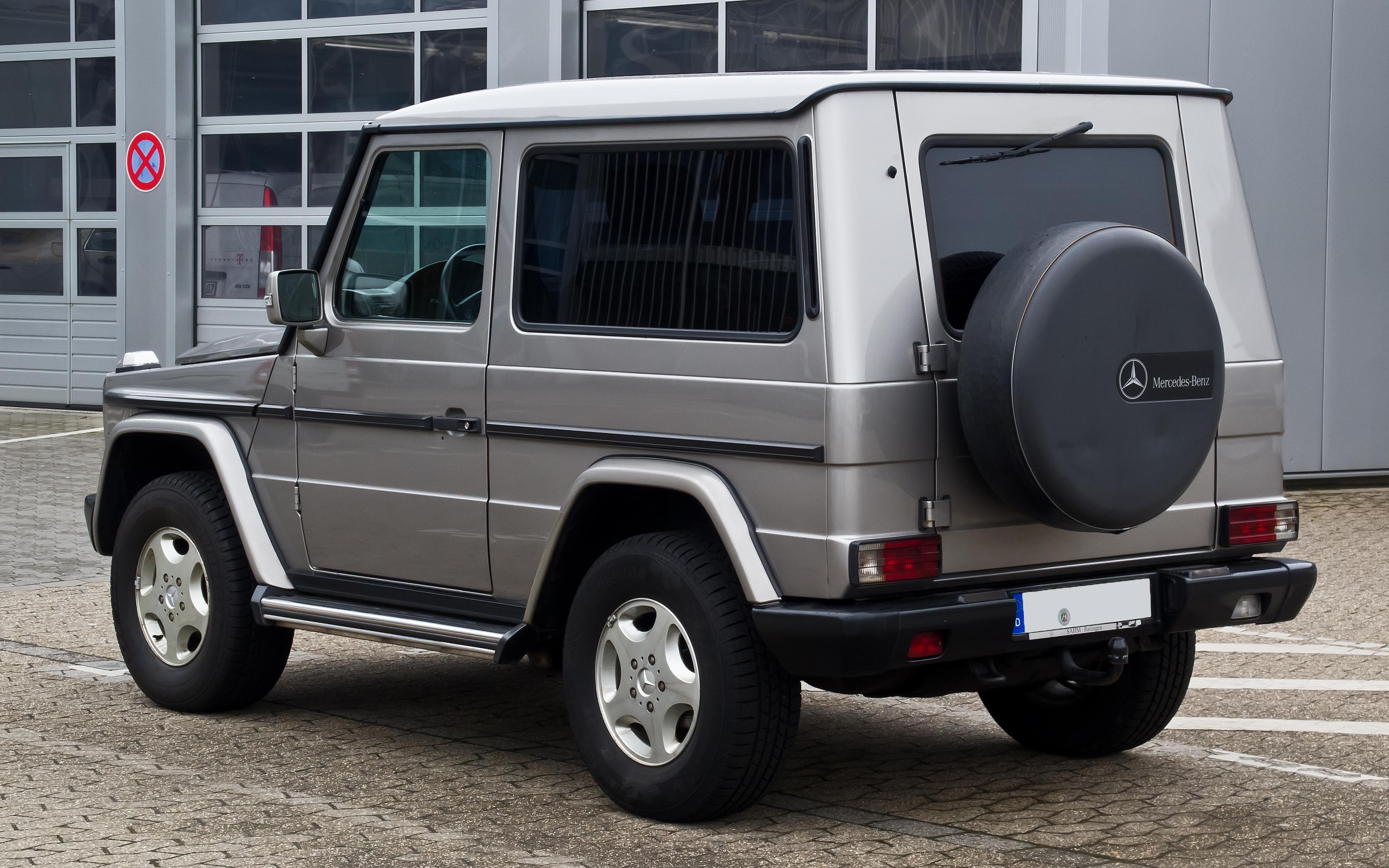 File:Mercedes-Benz G 270 CDI (W 463) – Heckansicht, 3