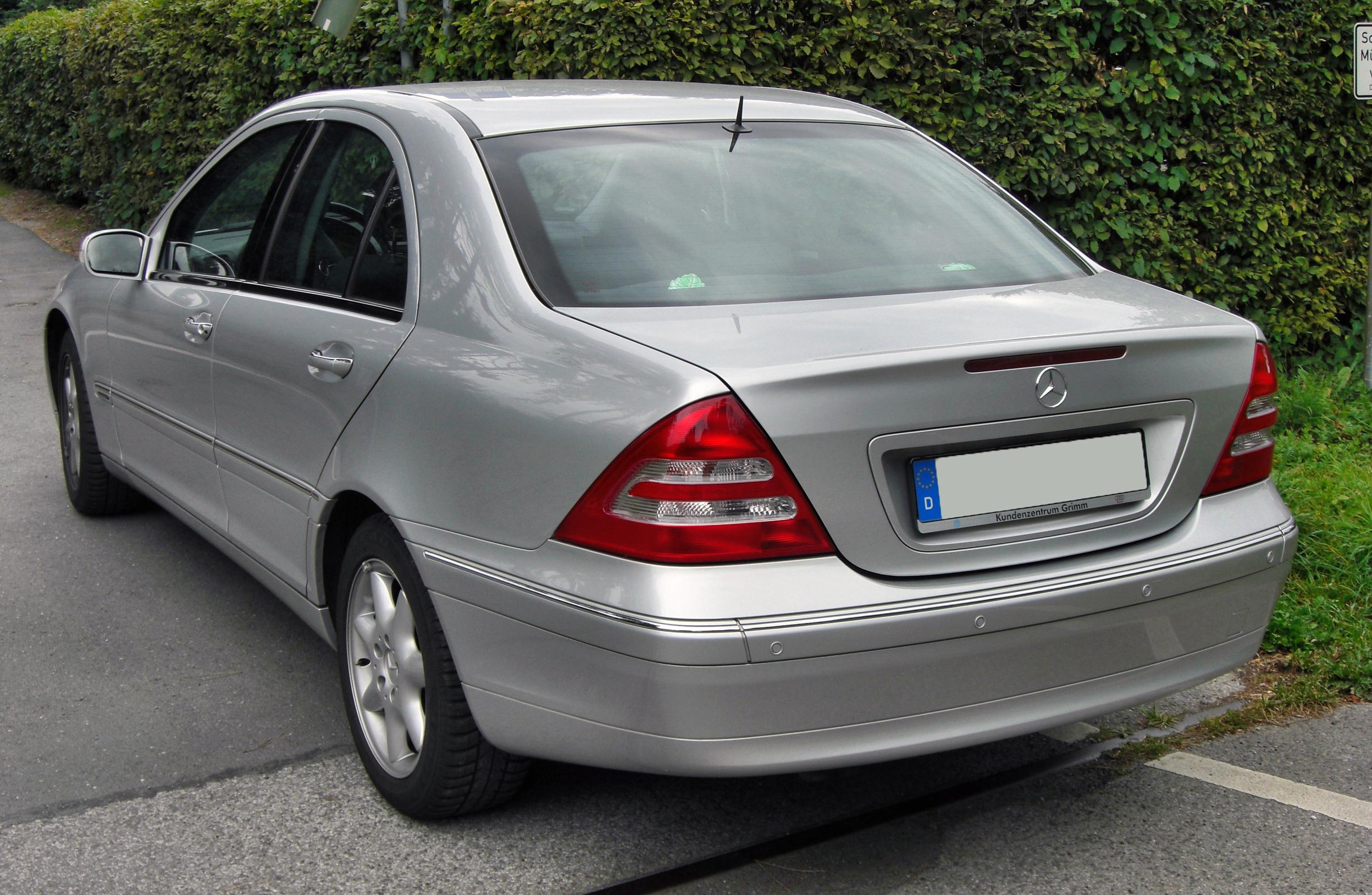 Mercedes Classe C  Caract Ef Bf Bdristique