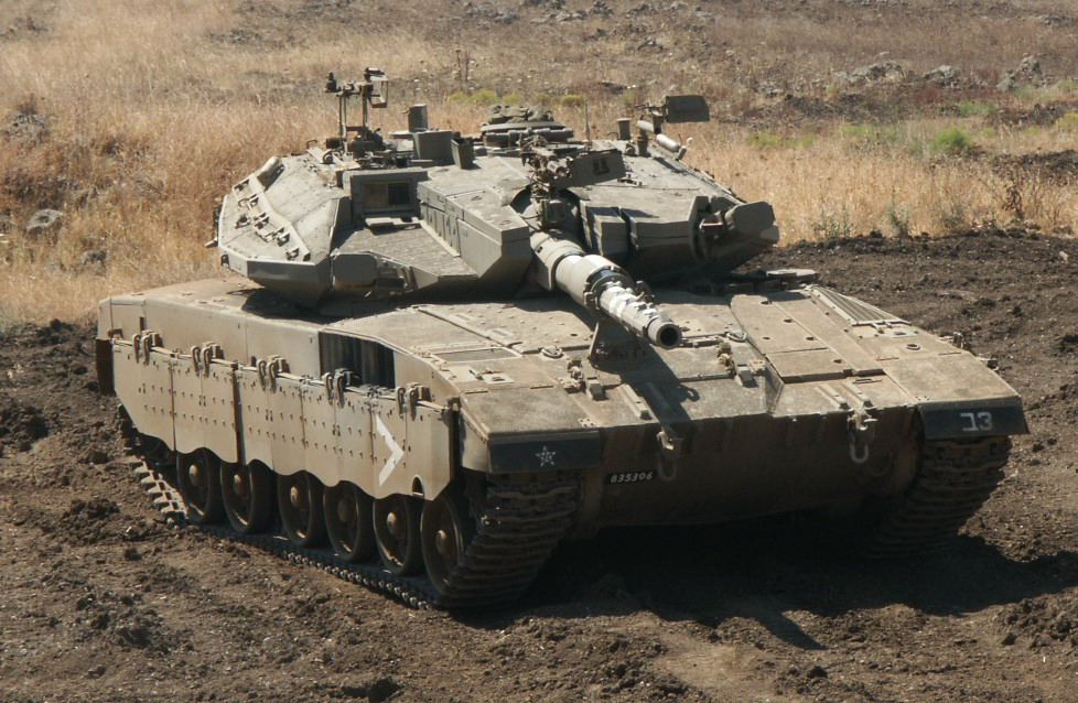 The Merkava III Dor Dalet BAZ Kasag, latest improvement of the Merkava