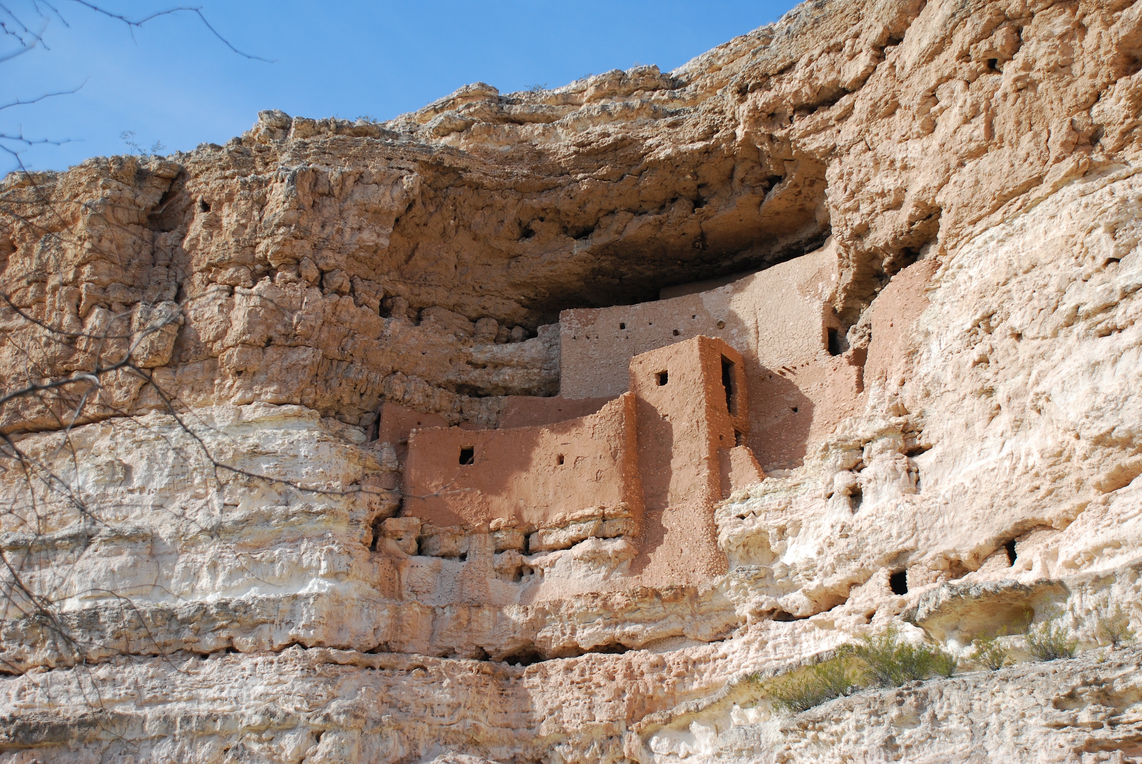 montezuma castle Montezuma castle national monument is located about 50 miles south of flagstaff, only two miles east of i-17 operated by the national park service, it has a well-maintained access road, a.