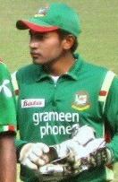 Photographie représentant Mushfiqur Rahim prise en 2009.
