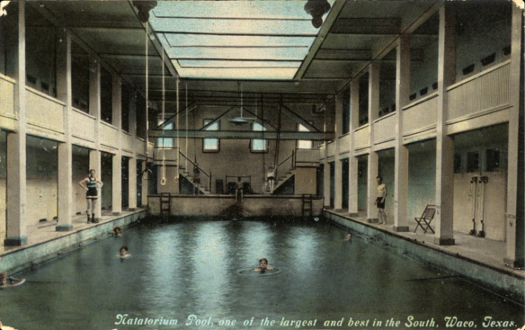Natatorium Pool, swimming pool, Waco, Texas