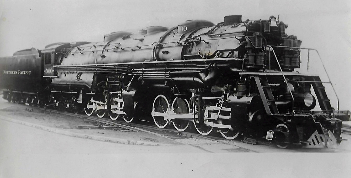 File:Northern Pacific locomotive 5000 largest in world 1929