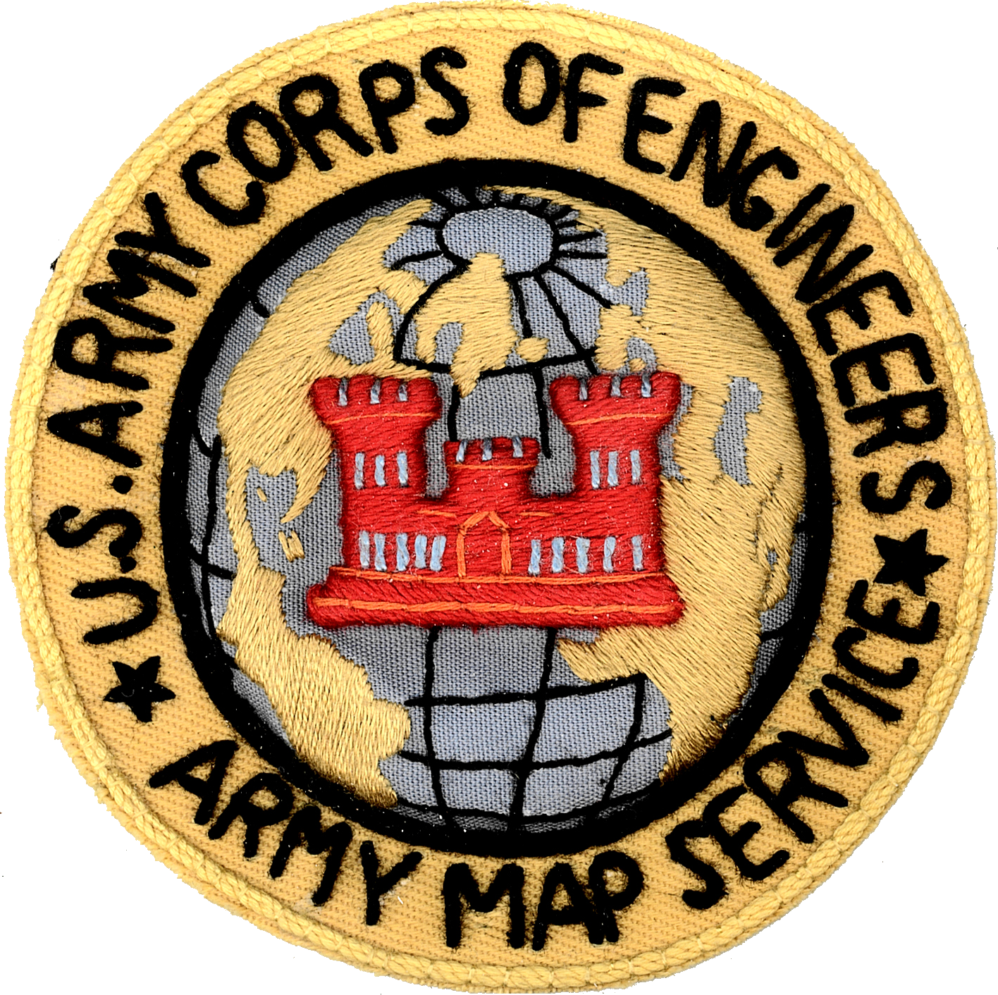 FilePatch of the United States Army Corps of Engineers Army Map