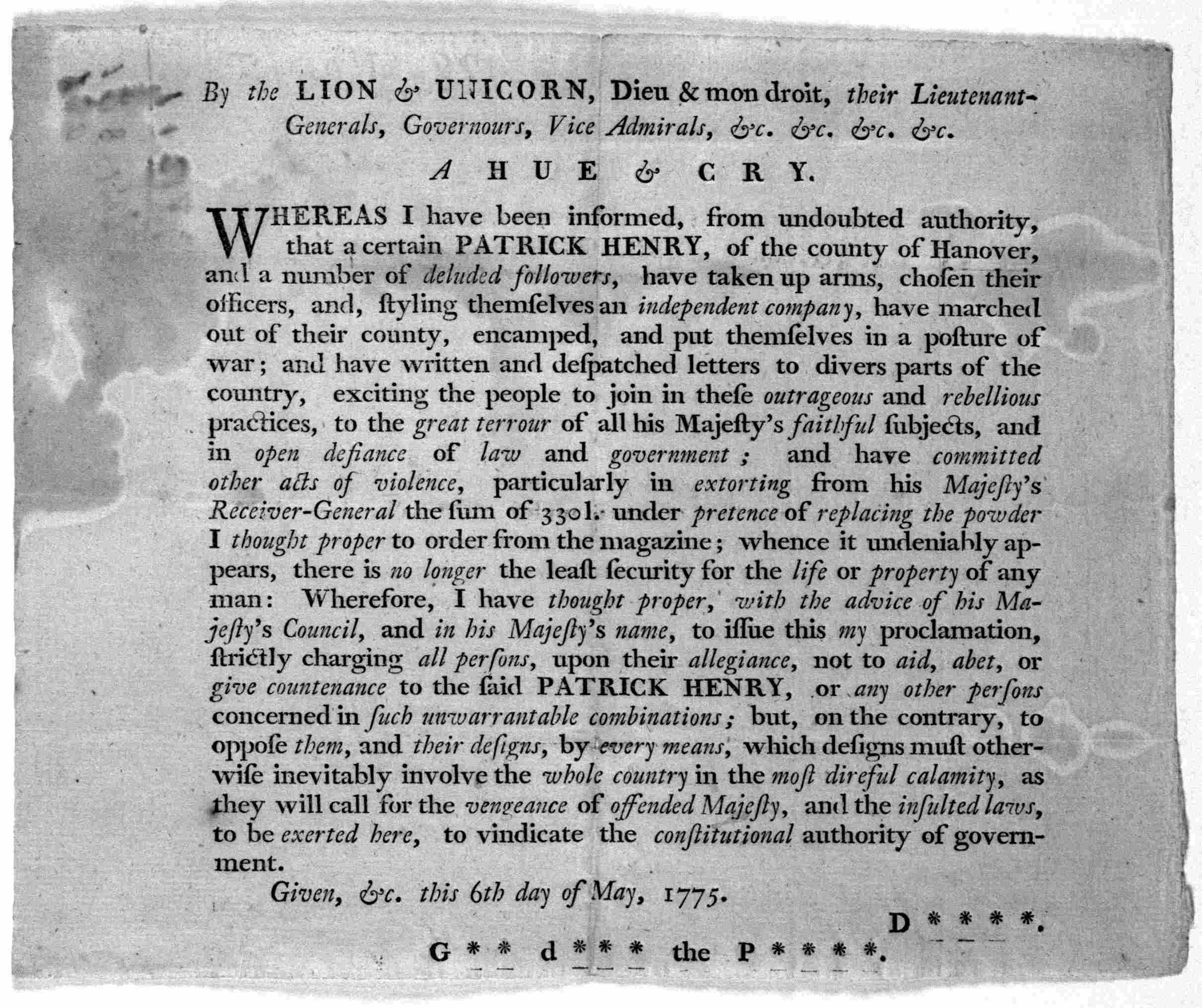 """patrick henry speech antithesis From the """"speech to the virgina convention,"""" choose one rhetorical question henry asks provide the question in your response b discuss the effect the question has on his audience."""