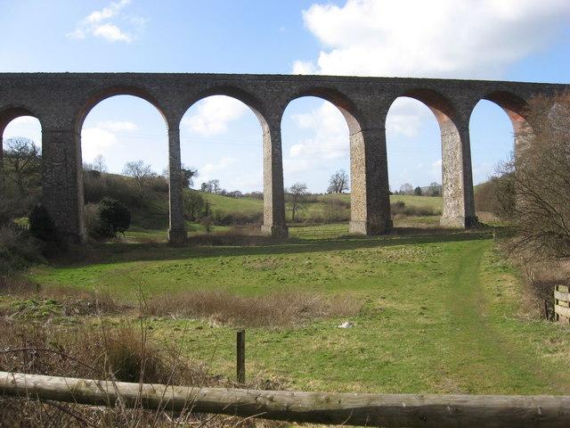 Pensford Viaduct - geograph.org.uk - 717285