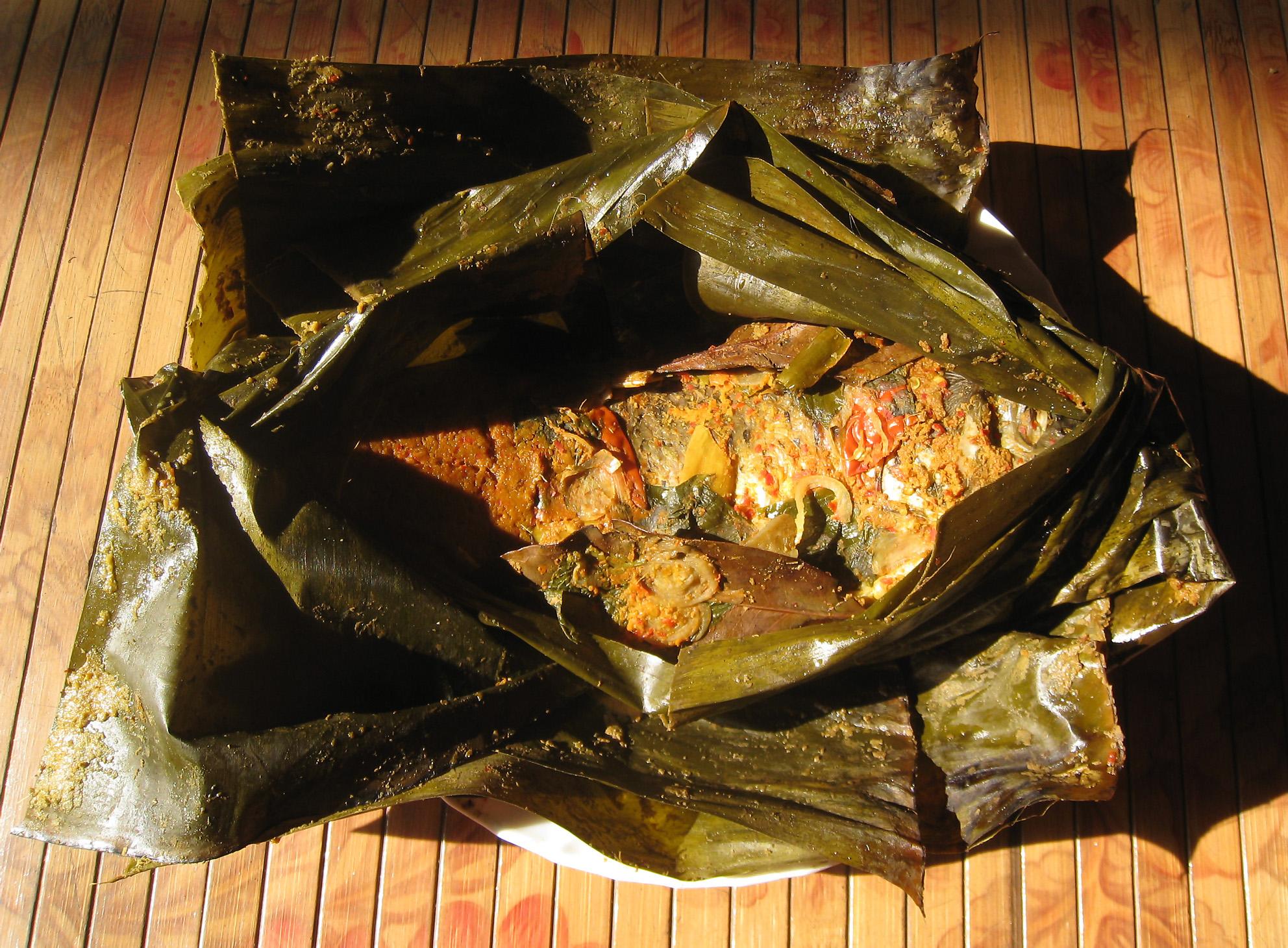 Resep Masakan Sunda Pepes Ikan