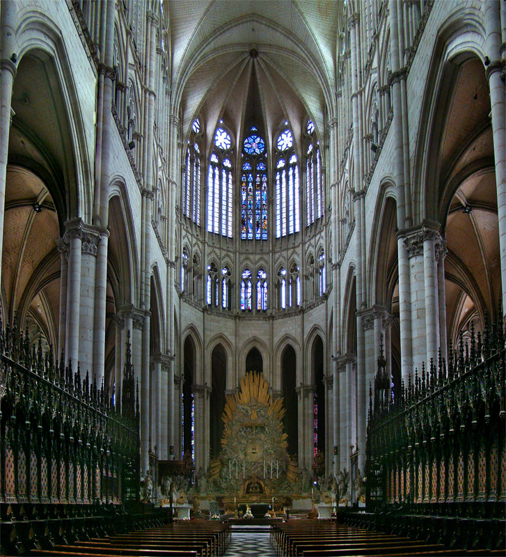Gothic art and architecture p serenbetz for Art architectural