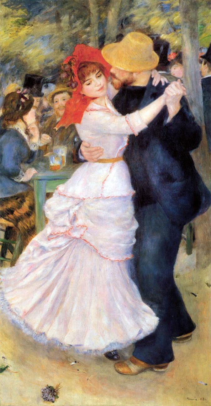 изящный танец обнаженной дамы
