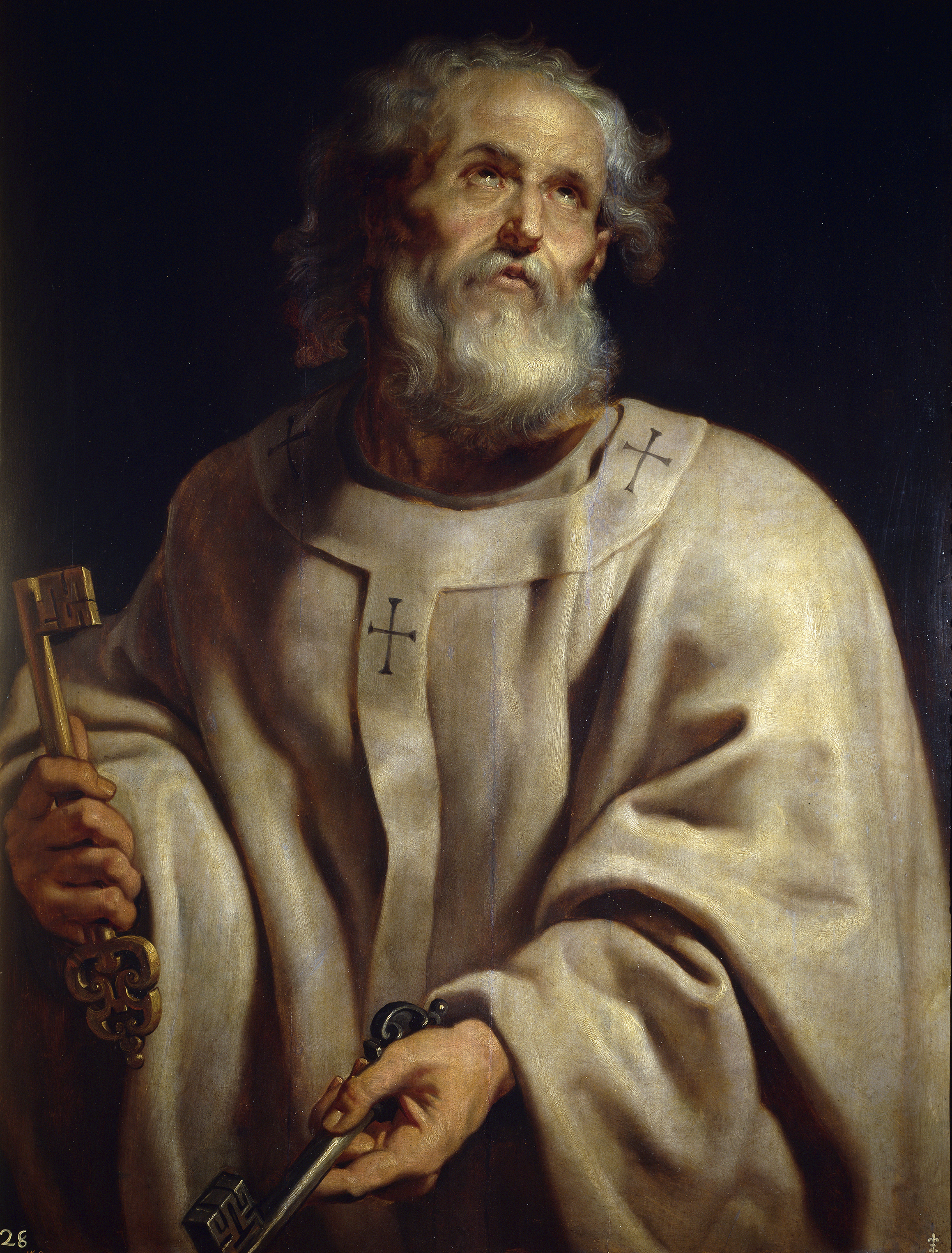 1st Pope: From Wikimedia Commons