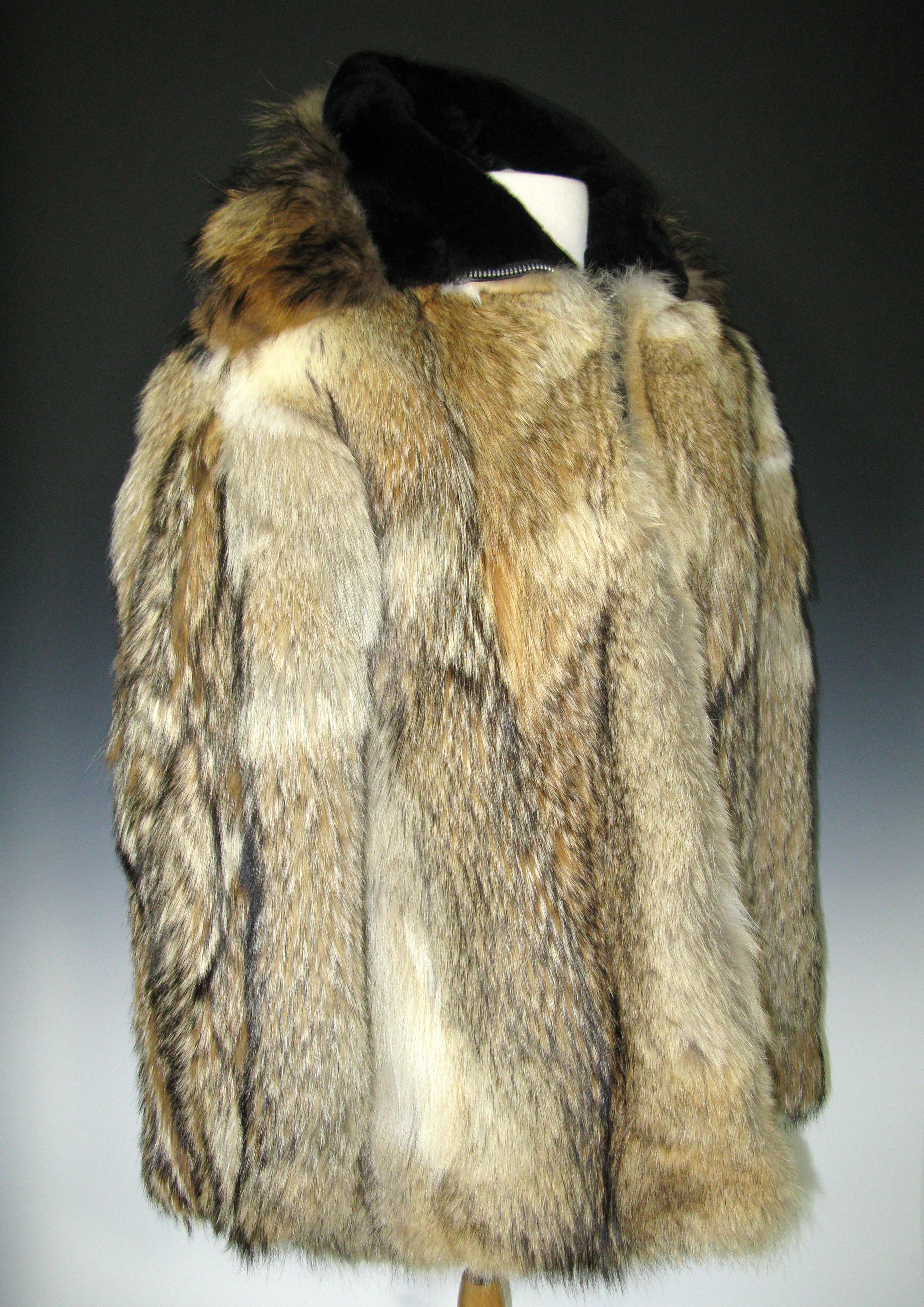 File President Ford S Wolf Skin Coat Jpg Wikimedia Commons