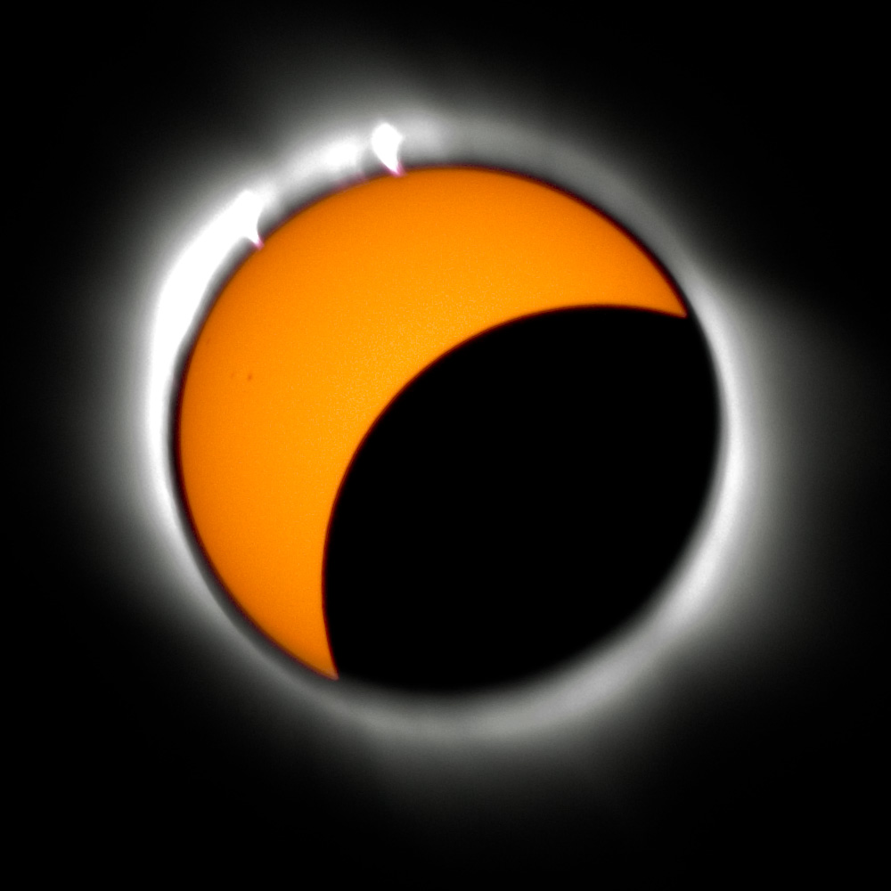 RBerteig Solar eclipse partial phase and corona %28by%29 Partial Eclipse