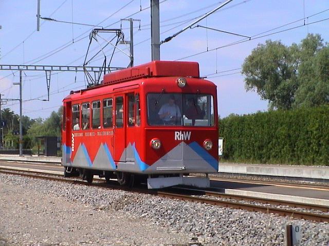 Strecke der Bergbahn Rheineck–Walzenhausen