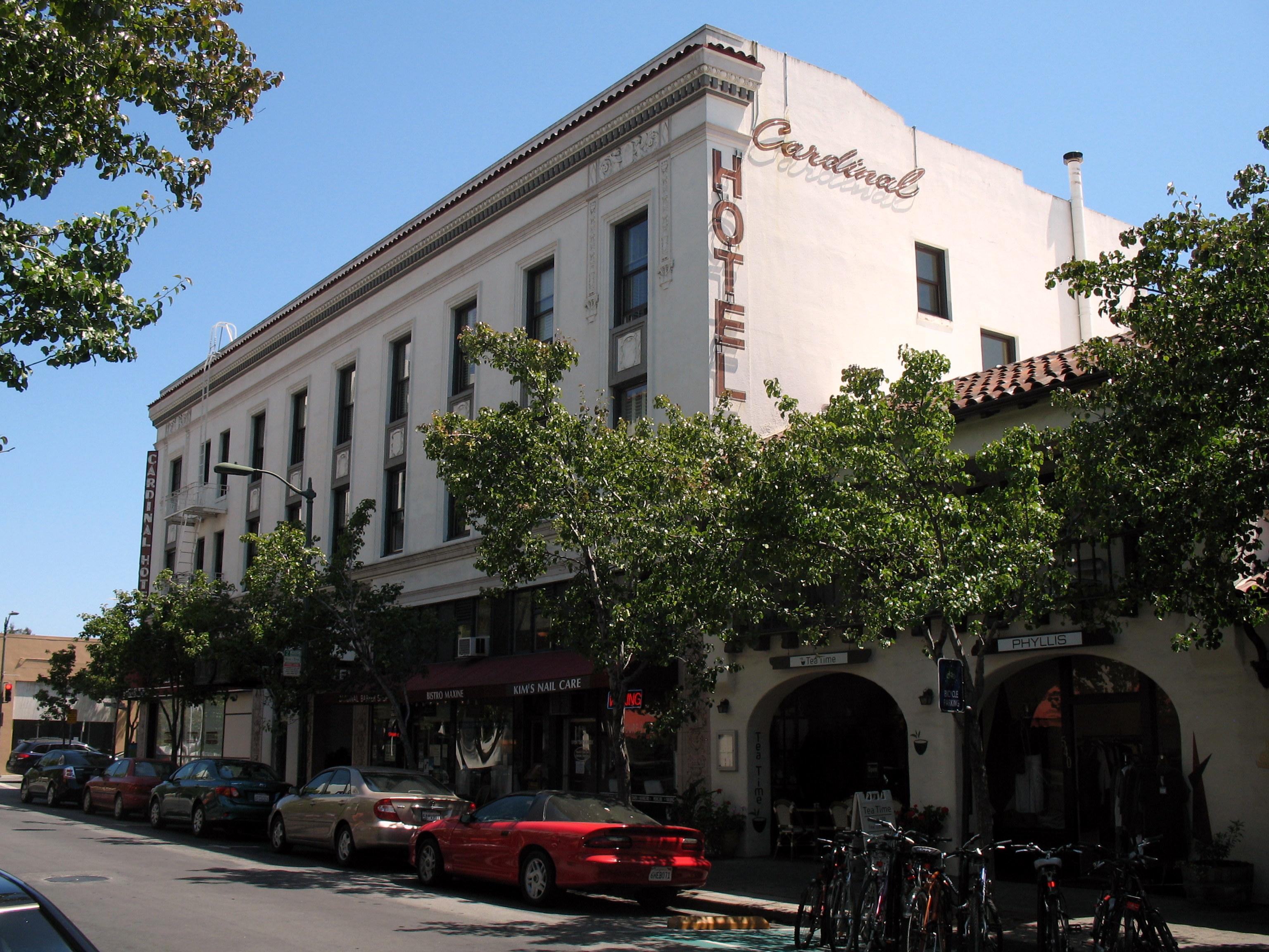 File Ramona Street Architectural District Cardinal Hotel 235 Hamilton Ave Palo