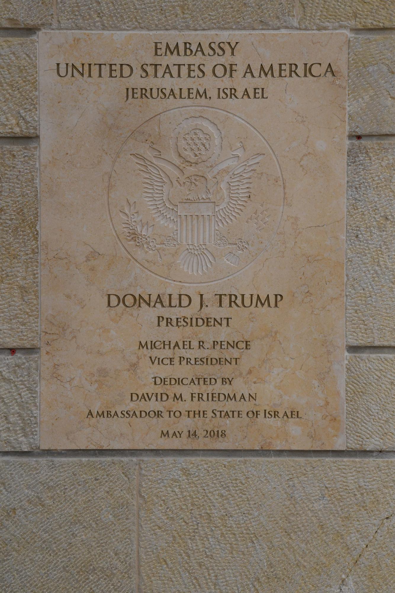 Image result for jerusalem embassy opening