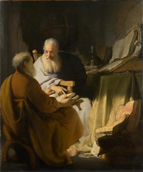 Rembrandt Two old men disputing 1628.jpg
